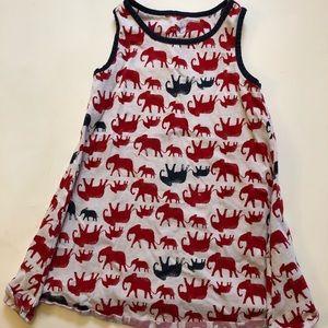 Lands End elephant dress